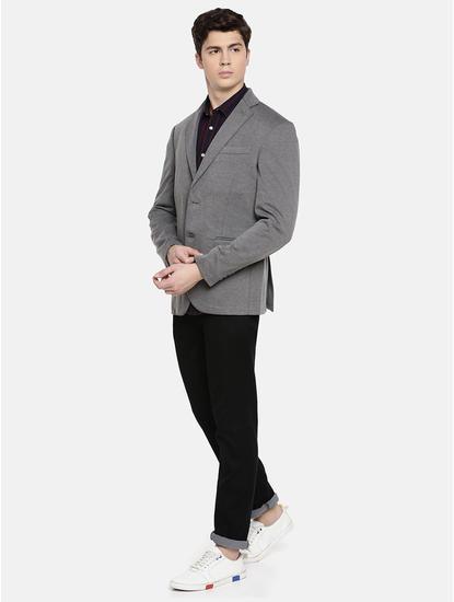 Grey Melange Blazer