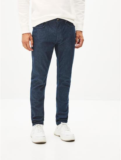 Powerflex Blue Solid Slim Fit Jeans