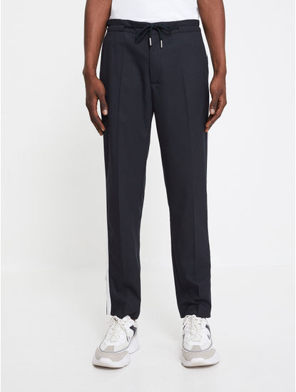24 Hr  Slim Fit Navy Pants