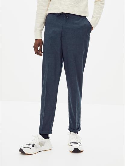 24 Hr  Slim Fit Navy Pants