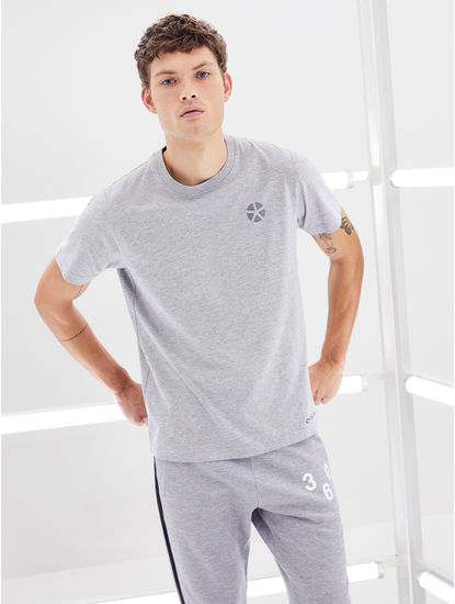 100% Cotton Grey T-Shirt