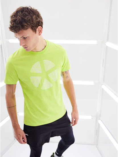 100% Cotton Fluorescent Green T-Shirt