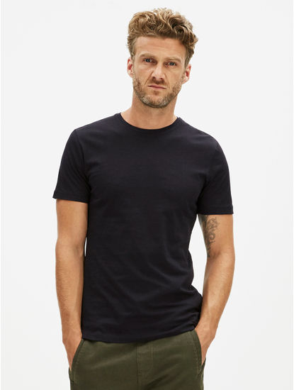 100% Cotton Black T-Shirt