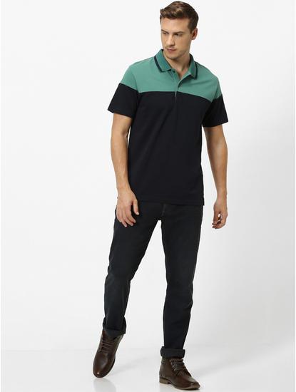 100% Cotton Dark Green Polo T-Shirt