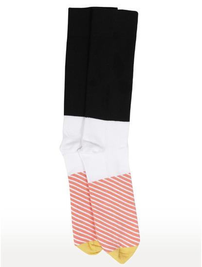 Black Striped Socks