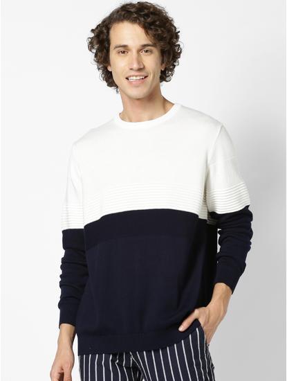 Navy Sweaters