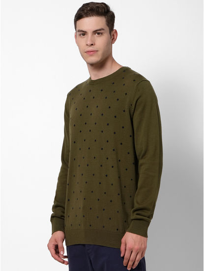 Olive Sweaters