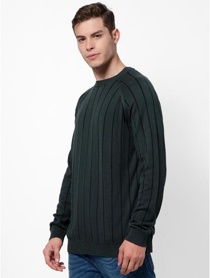 Reversible Dark Green Sweater