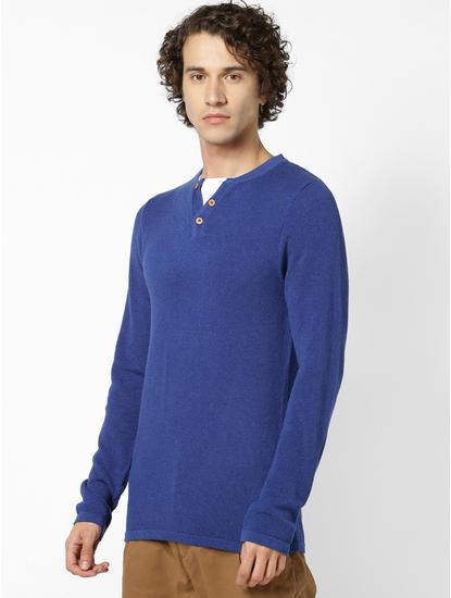 Blue Sweaters