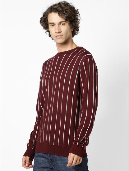 Reversible Burgundy Sweater
