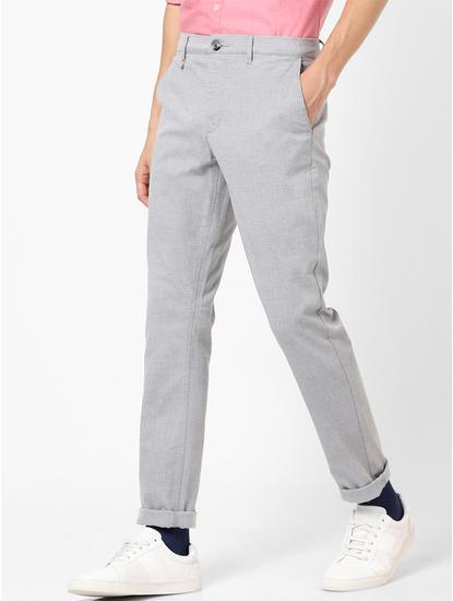 Skinny Fit Grey Trouser