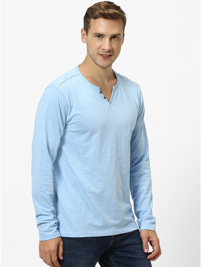 Organic Cotton Blue T-Shirt