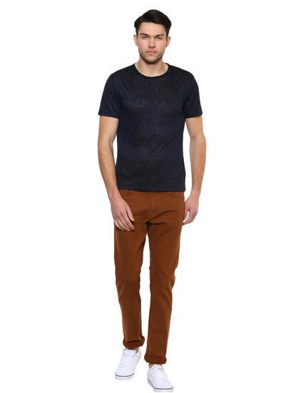 Dark Navy Solid T-Shirt