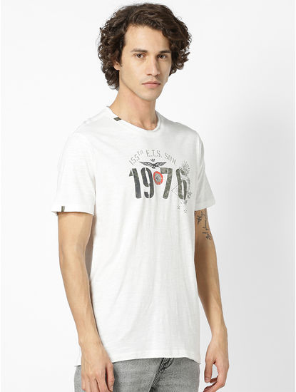 100% Cotton White T-Shirt