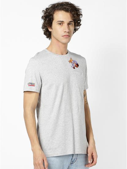 SONIC-Grey T-Shirt