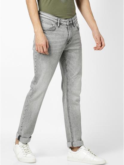 Grey Blue Jeans