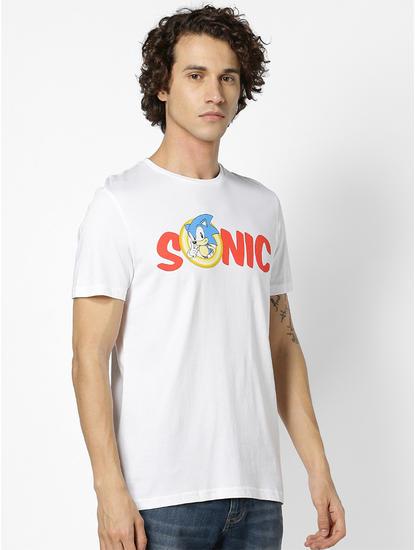 SONIC-Optical White T-Shirt