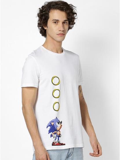 SONIC-White T-Shirt