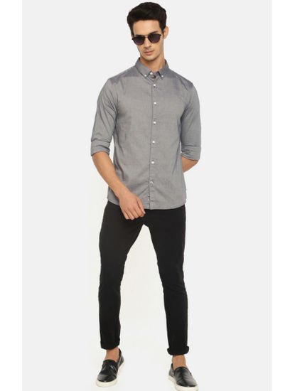 100% Cotton Charcoal Shirt