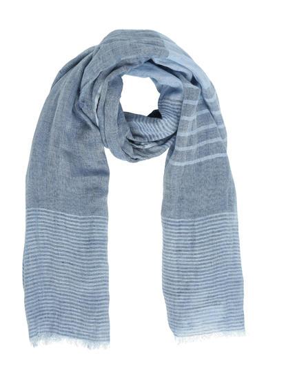 Blue Striped Muffler