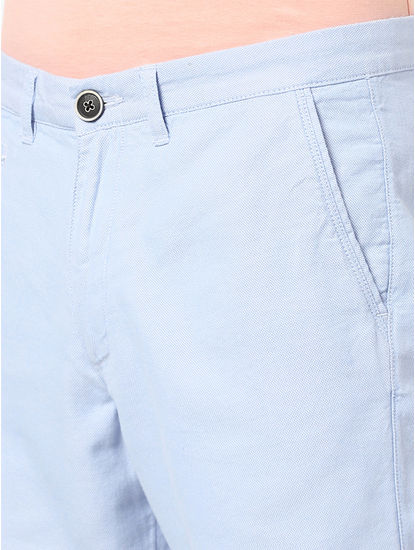 100% Cotton Light Blue Shorts