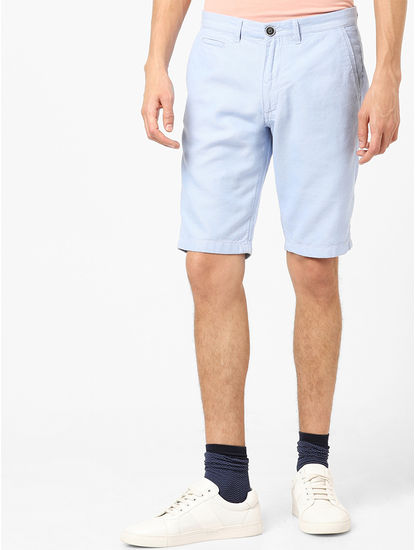 100% Cotton Light Blue Chinos
