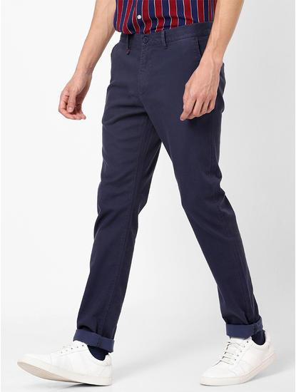 Navy Slim Fit  Chinos