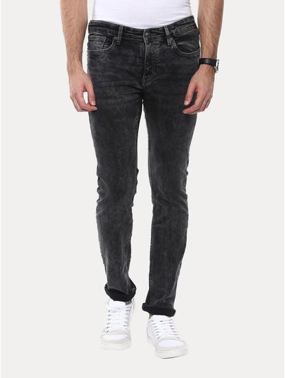 Jobrandon Grey Straight Jeans