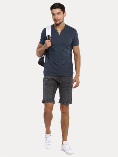 Charcoal Solid Shorts