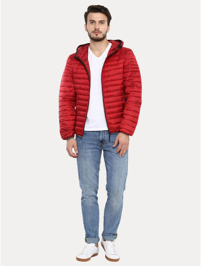 Red Solid Jacket