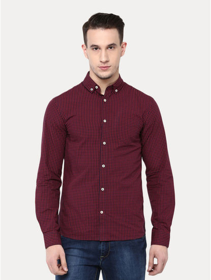 Rouge Checked Casual Shirt