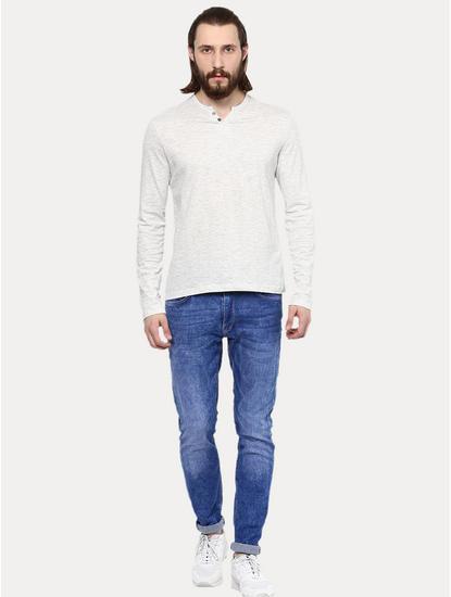 Light Grey Melange T-Shirt