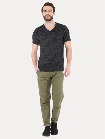 Black Melange T-Shirt