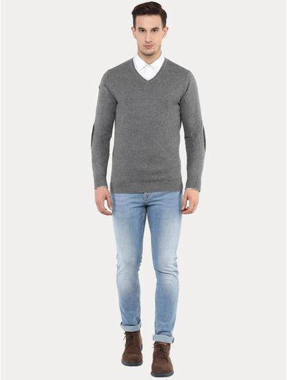 Fever Grey Melange Sweater