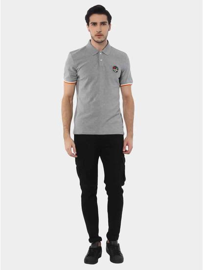 Jeretro Grey Melange T-Shirt