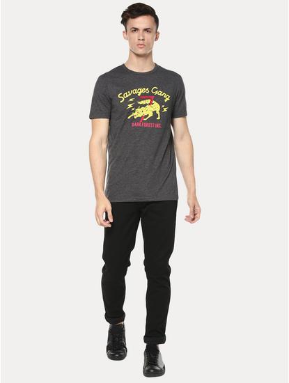 Powerflex Black Slim Jeans