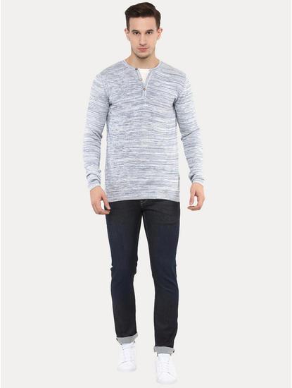 Gechill Blue Melange T-Shirt