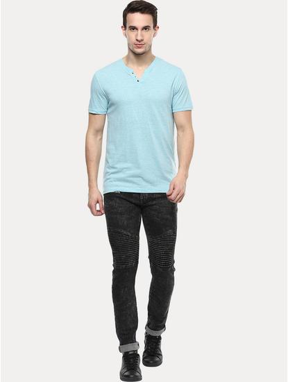 Light Blue Melange T-Shirt