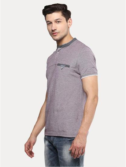 Lilac Melange T-Shirt