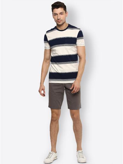 Off White Colourblock T-Shirt