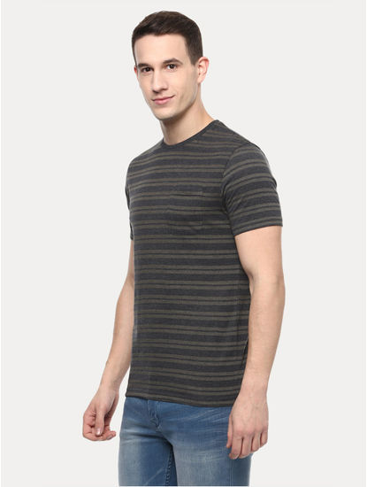 Anthracite Striped T-Shirt
