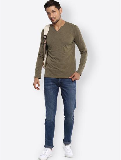 Olive Melange T-Shirt