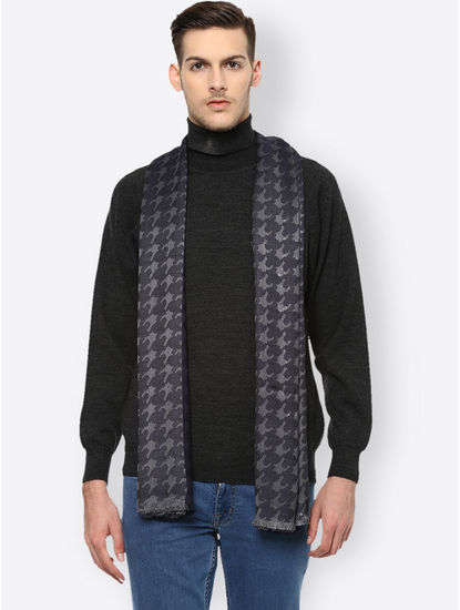 Grey Printed Stole