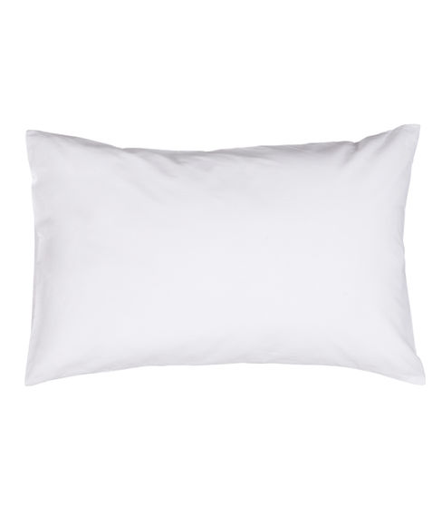 White Small Size Boys Kids Pillow With Cover - Portico New York Therapeia Collection
