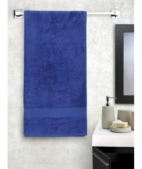 Twilight Blue Bath Towel,   (75 x 150cms) - Portico New York New Ultralux Collection