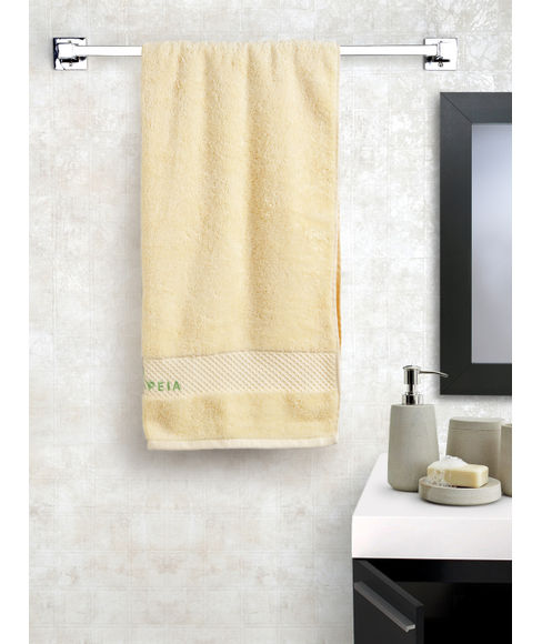 Butter Cream Bath Towel (75 x 150cms) - Portico New York New Therapeia Fresh Collection