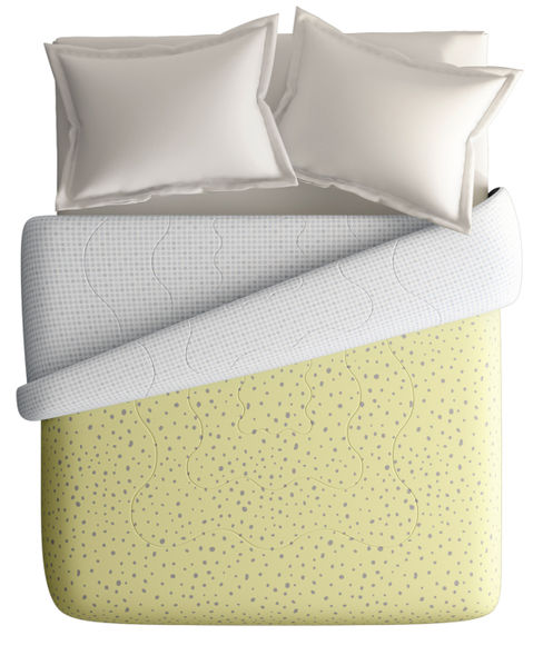 Abstract & Fun Print King Size Comforter (100% Cotton, Reversible) - Portico New York Hashtag Collection