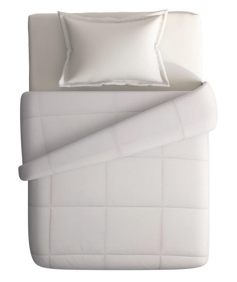 Snow Flakes Rainy Beige Comforter Single Size
