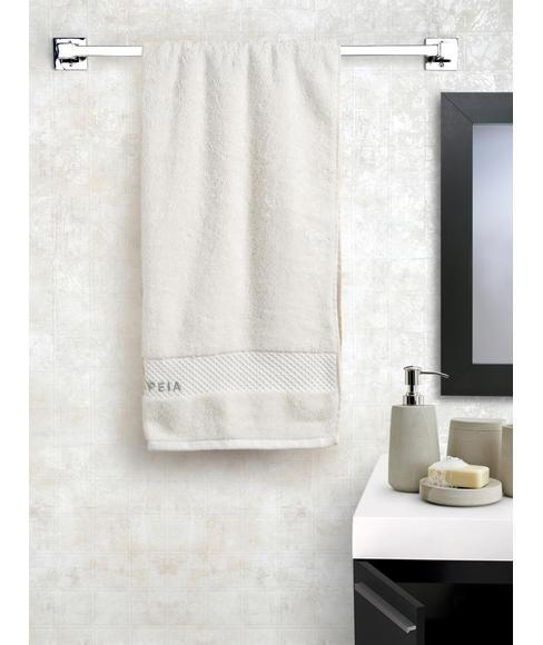 Optical White Medium Bath Towel (60 X 120cms) - Portico New York New Fresh Collection