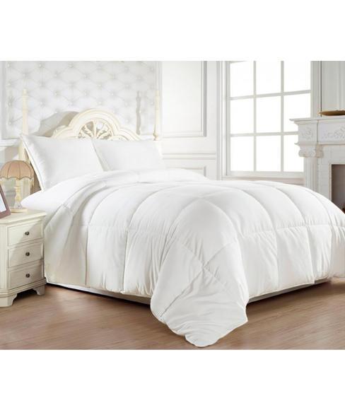 Optical White Duvet (Single Size - 152 X 228 cms, 100% Cotton Fabric) - Portico New York Advansa Collection